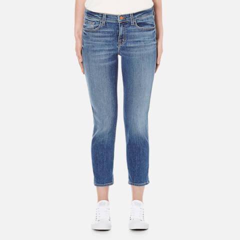 J Brand Women's Sadey Slim Straight Jeans - Old Rose