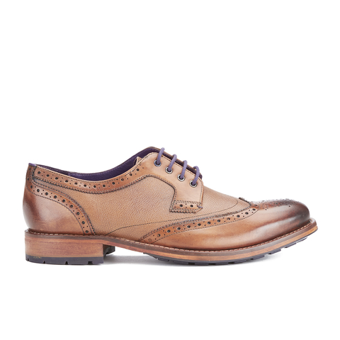 Ted Baker Men's Casius4 Leather Brogues - Tan