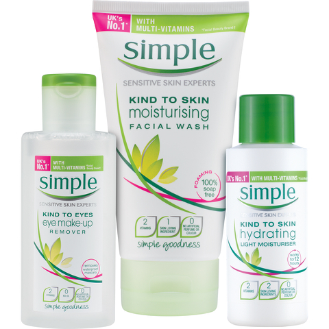 Simple Vital Skin Vitamin Pack