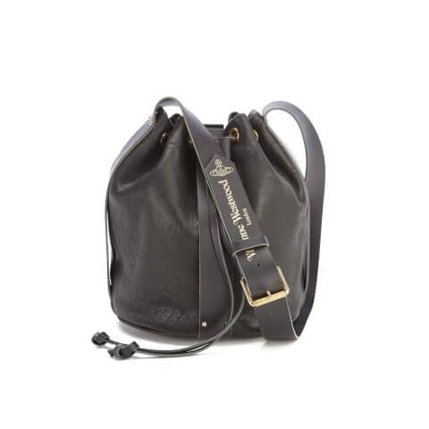 Vivienne Westwood Women's Bondage Bucket Bag - Black