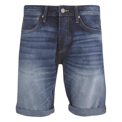 Jack & Jones Men's Rick Original Denim Shorts - Mid Wash