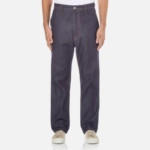 AMI Men's Street Fit Jeans - Indigo