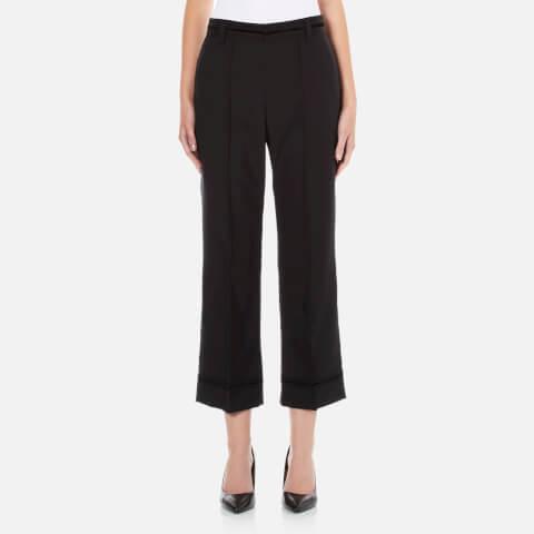Marc Jacobs Women's Cropped Bowie Pants - Black