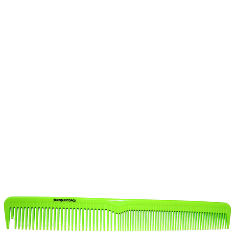 Denman Precision Cutting Comb - Lime Green
