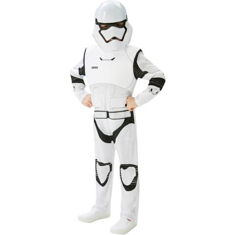 Star Wars Boys' Deluxe Stormtrooper Fancy Dress