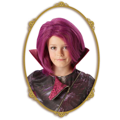 Disney Descendants Girls' Mal Wig