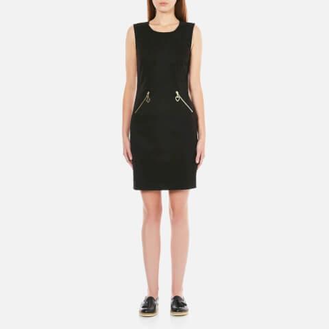 Love Moschino Women's Zip Dress - Black