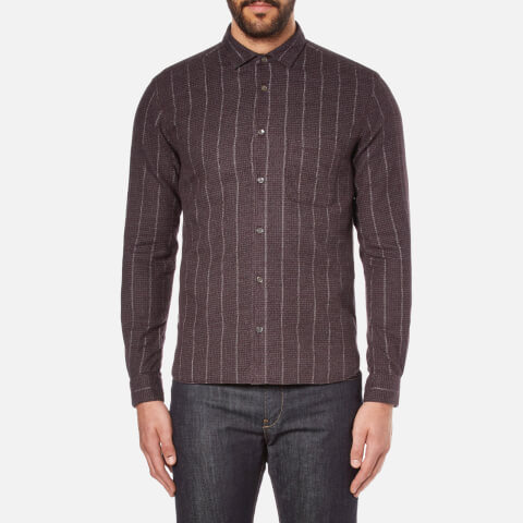 YMC Men's Curtis Shirt - Burgundy