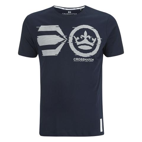 Crosshatch Men's Onsite Graphic T-Shirt - Nightsky