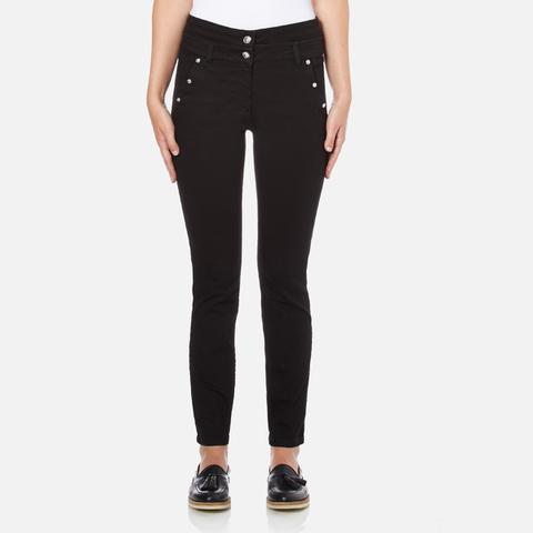 Versus Versace Women's Studded Pocket Jeans - Black