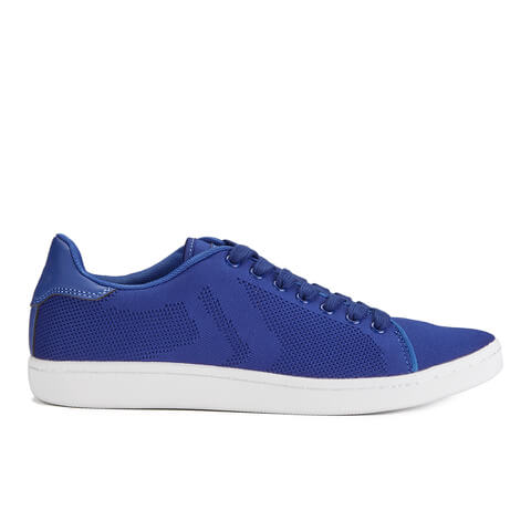 Crosshatch Men's Cross Shot Mesh Trainers - Sapphire