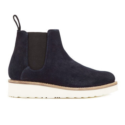Grenson Women's Lydia Suede Chelsea Boots - Navy