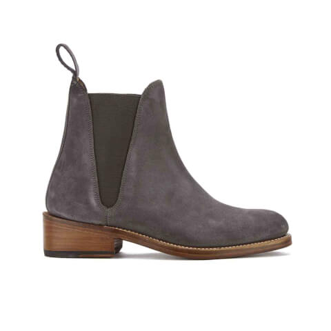 Grenson Women's Nora Suede Chelsea Boots - Charcoal