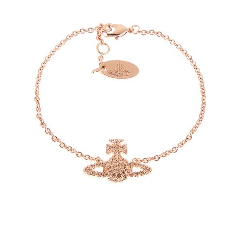 Vivienne Westwood Jewellery Women's Grace Bas Relief Bracelet - Light Peach