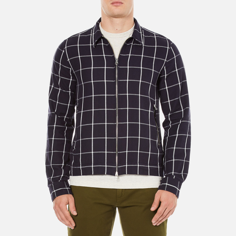 GANT Rugger Men's Brooklyn Twill Shirt Jacket - Marine