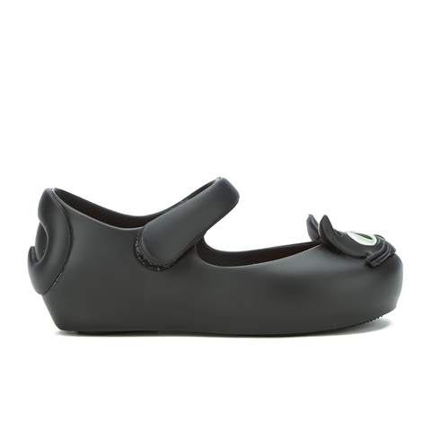 Mini Melissa Toddlers' Ultragirl Kitty 16 Ballet Flats - Black