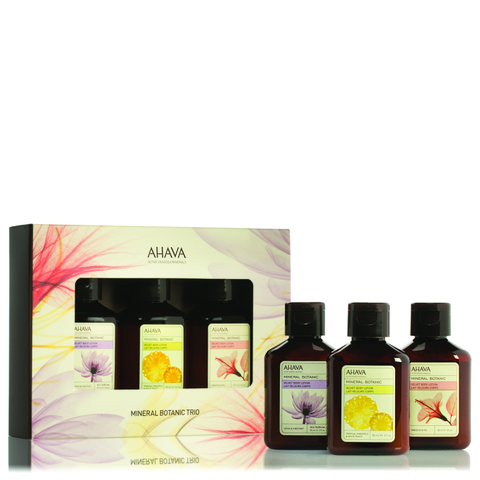 AHAVA Mineral Botanic Body Lotion Collection (Worth $30)