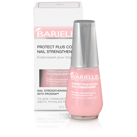 Barielle Protect Plus Color Nail Strengthener - Dark Pink