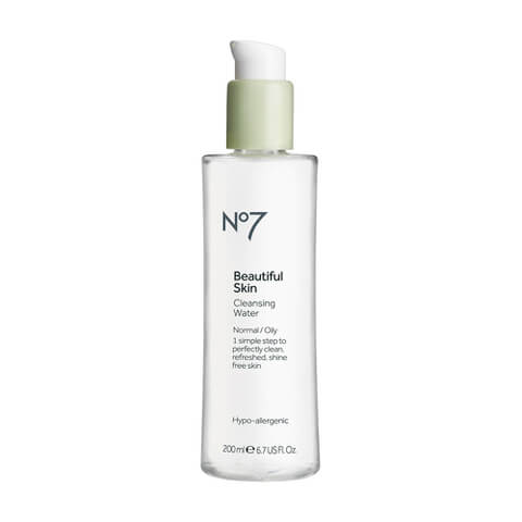 Boots No.7 Beautiful Skin Cleansing Water - Normal to Oily