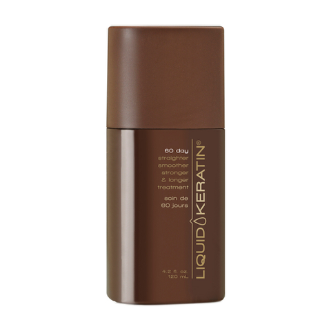 Liquid Keratin 60 Day Straightener Smoother Stronger and Longer Treatment