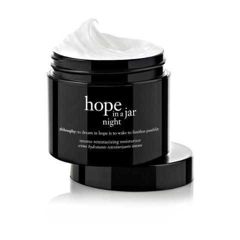 Philosophy Hope in a Jar Night Intensive Retexturizing Moisturizer