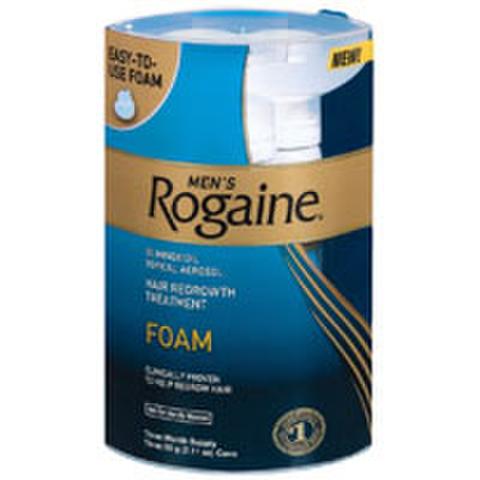 Rogaine Men's Foam Triple Pack