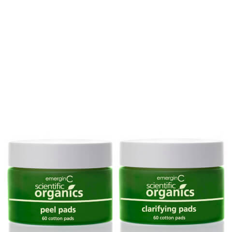 EmerginC Scientific Organics At-Home Facial Peel and Clarifying Kit