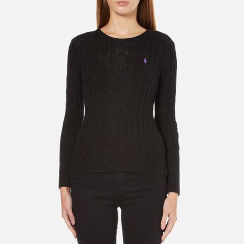 Polo Ralph Lauren Women's Julianna Crew Neck Jumper - Black