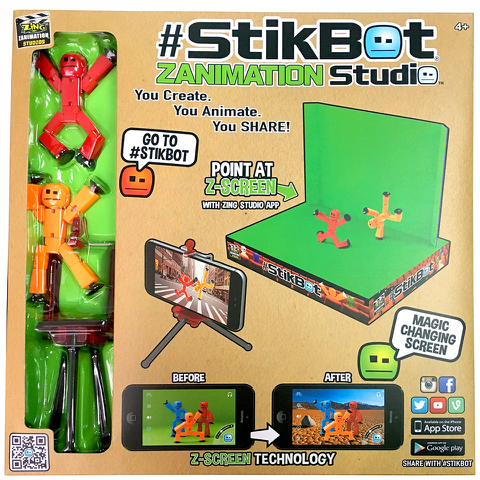 StikBot Zanimation Studio Pro Kit