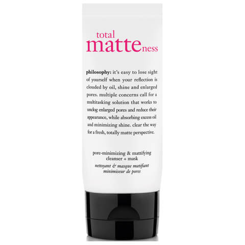 philosophy total matteness cleanser + mask