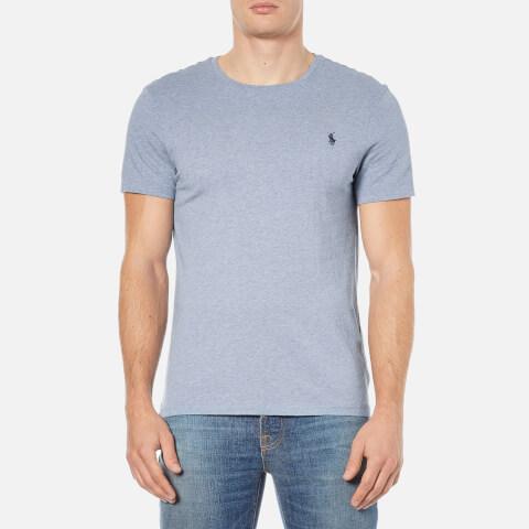 Polo Ralph Lauren Men's Short Sleeve Crew Neck Custom Fit T-Shirt - Ocean Heather