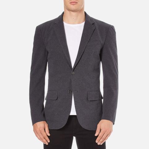 Polo Ralph Lauren Men's Jersey Buttoned Blazer - Grey Heather