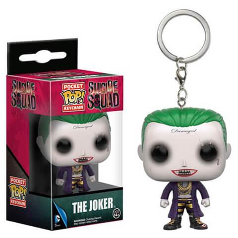 Suicide Squad Joker Pocket Pop! Sleutelhanger