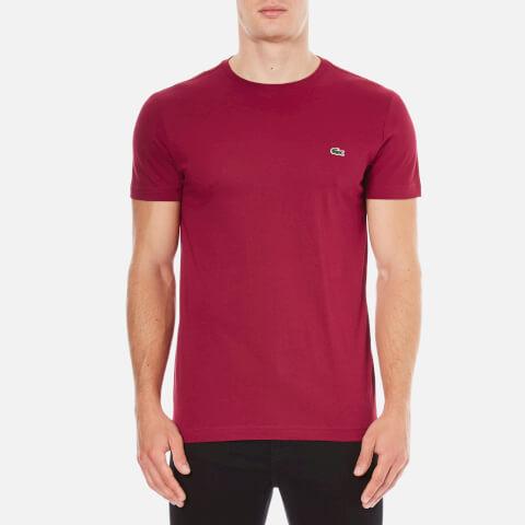 Lacoste Men's Crew Neck T-Shirt - Bordeaux