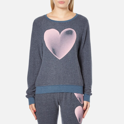 Wildfox Women's Faded Love Baggy Beach Sweatshirt - After Midnight Blue