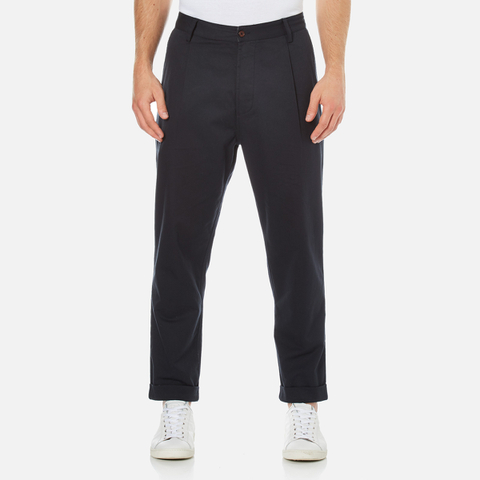 Universal Works Men's Pleat Pants - Navy