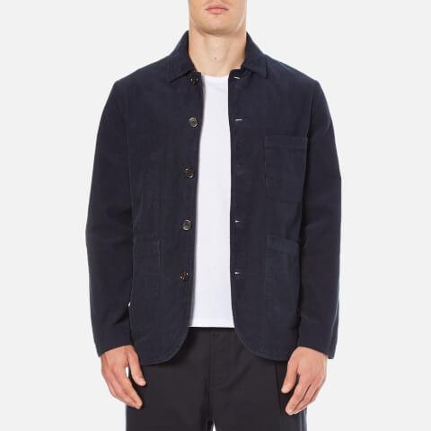 Universal Works Men's Bakers Jacket - Navy