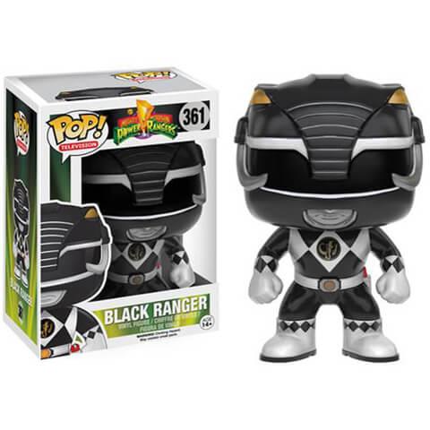 Mighty Morphin Power Rangers Schwarz Ranger Funko Pop! Figur