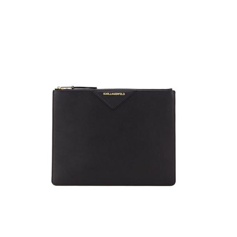 Karl Lagerfeld Women's K/Klassik Big Pouch - Black