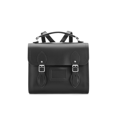 The Cambridge Satchel Company Women's Barrel Backpack - Black
