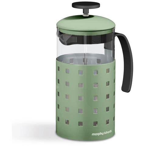 Morphy Richards Accents 8 Cup Cafetiere Sage - Sage