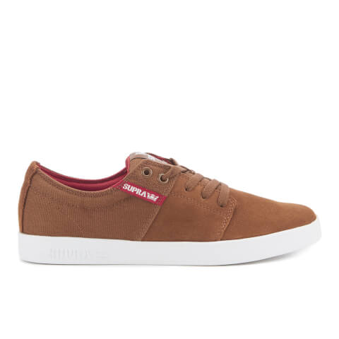 Supra Men's Stacks II Low Top Trainers - Brown