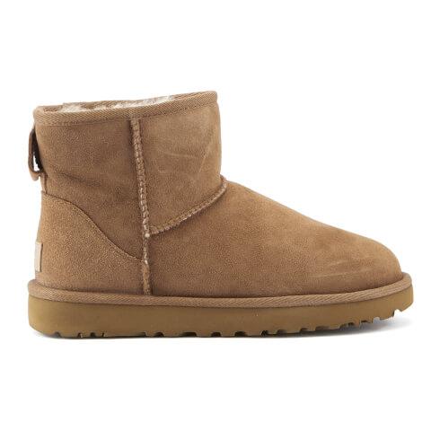 UGG Women's Classic Mini II Sheepskin Boots - Chestnut