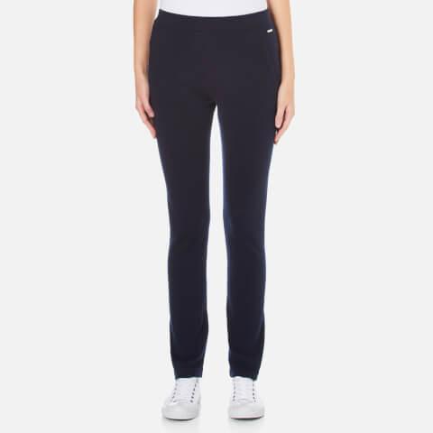 Woolrich Women's Cashmere Straight Leg Pants - Dark Navy