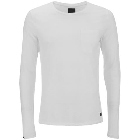 Produkt Men's Slub Pocket Long Sleeve Top - White