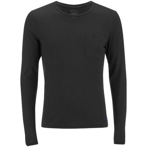 Produkt Men's Slub Pocket Long Sleeve Top - Black