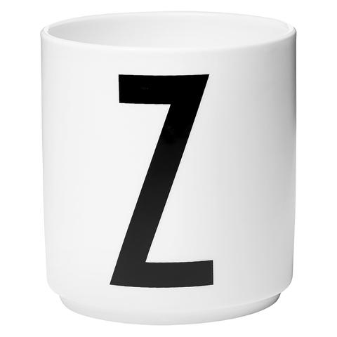 Design Letters Porcelain Cup - Z