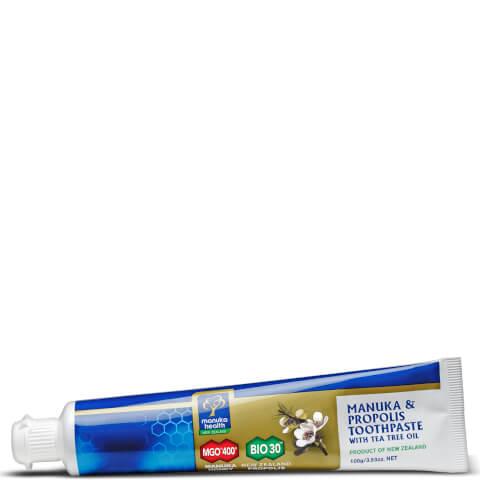 Propolis and MGO 400 Manuka Honey Toothpaste with Tea Tree Oil - 100g