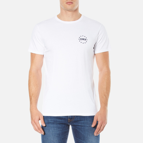 Edwin Men's Edwin Union T-Shirt - White