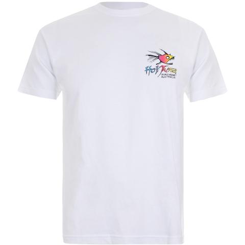 Hot Tuna Men's Rainbow T-Shirt - White